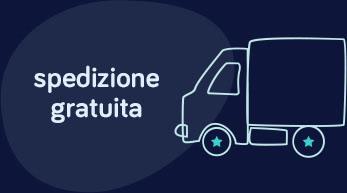 Spedizione gratuita in tutta Italia in 24 ore